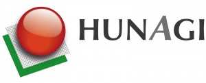 HUNAGI embléma világos alapra